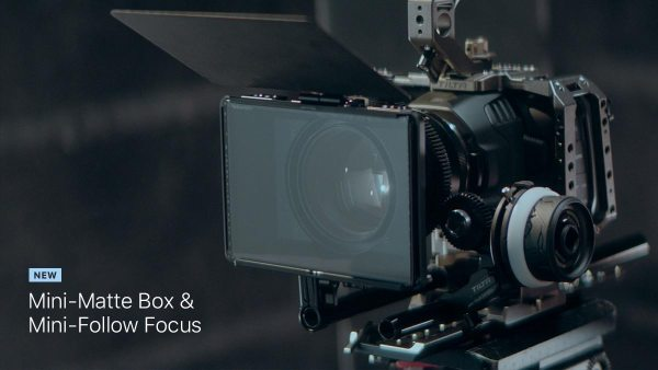 new mini follow focus and mini matte box