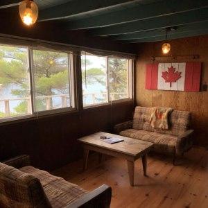 cabin four sitting area