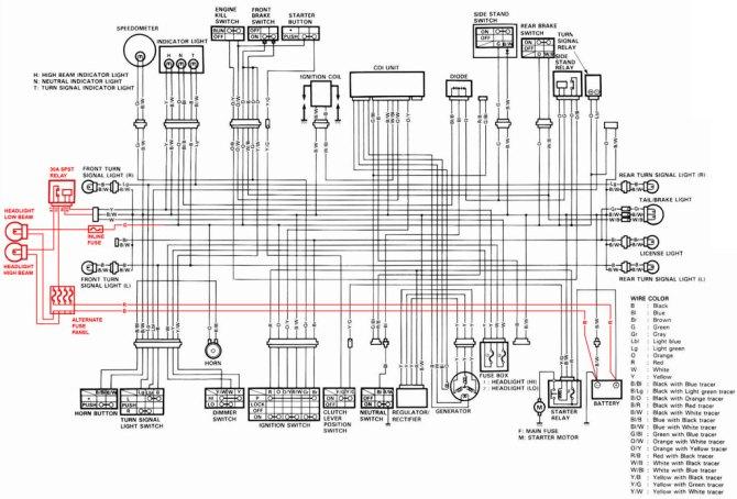 peterbilt 379 speedo wire diagram 125cc roketa dirt bike