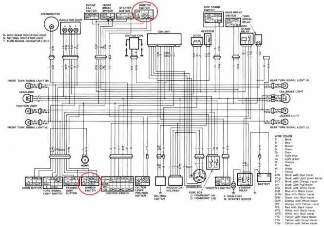 cdi ignition wiring diagram 420cc