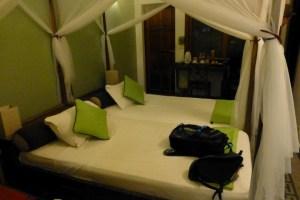 A pretty tight room in Phnom Penh