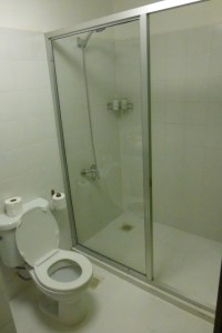 Why can't housekeeping close the toilet lid?