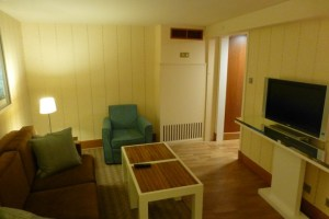 Separate Living Room in Suite