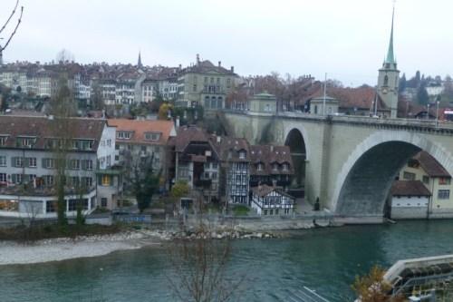 Old Town Bern - Under a Bridge