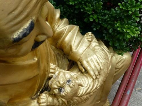 Buddha and a Dragon/Kitty