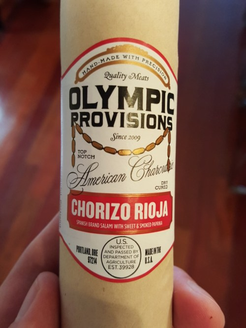 Vintage Label - Olympic Provisions Chorizo