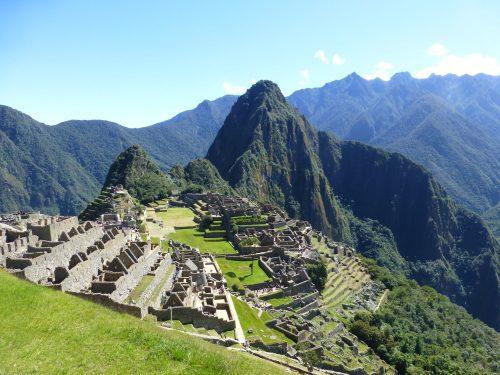 A beautiful day at Machu Picchu