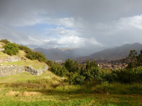 Incan ruins above the old city of Cusco