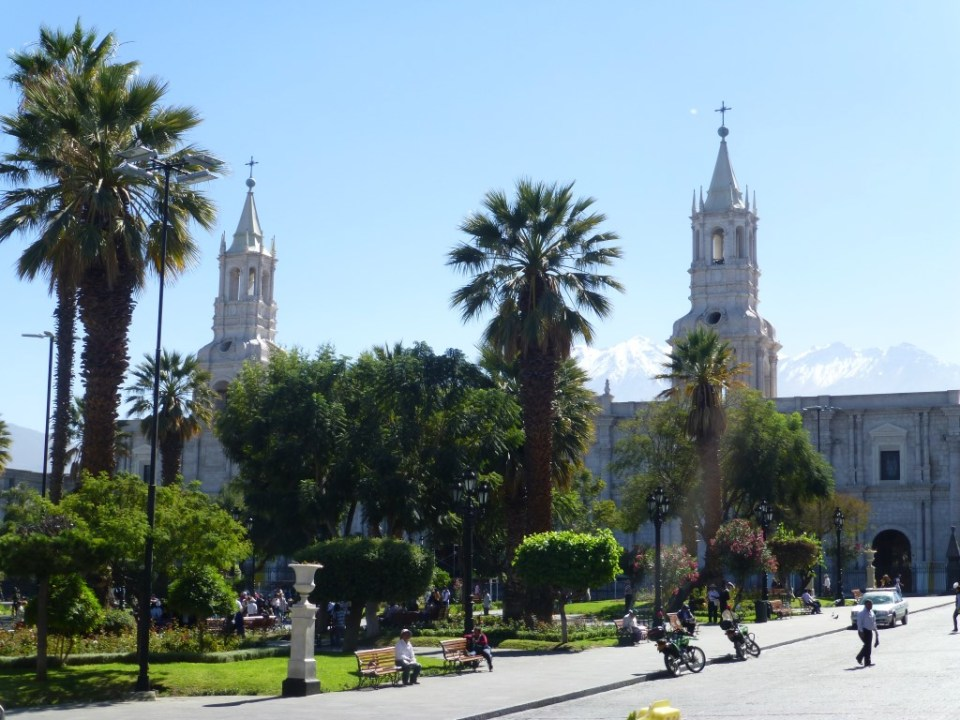 Plaza de Armas Arequipa.