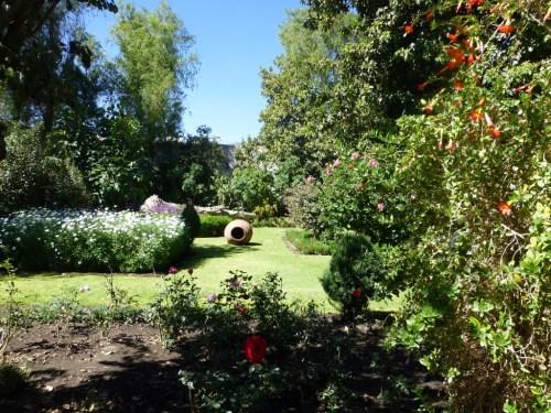 Garden in Santa Catalina Monestary