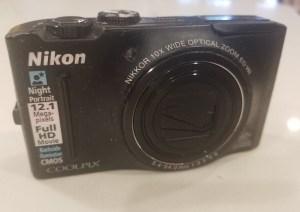 Old school digital camera
