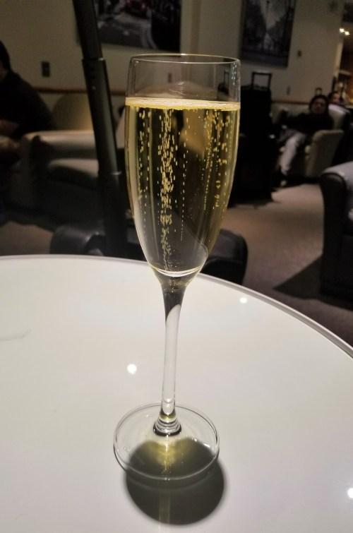 Pre-Flight Champagne