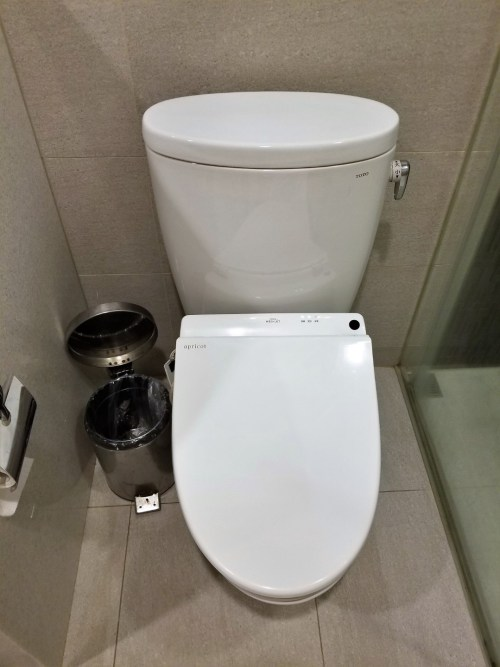 Private Shower Rooms must have a toilet, right?
