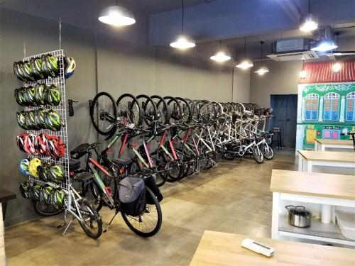 Singapore Bike Tour