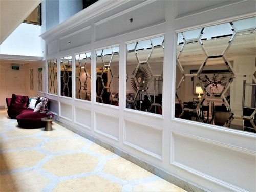 Mirrored Hall in Lobby