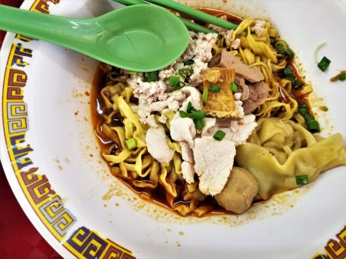 Hill Street Tai Hwa Pork Noodle - Close up