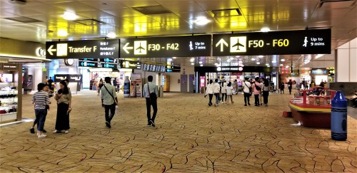 Changi International Airport - F Concourse