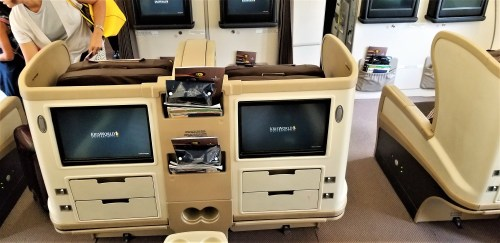 A330-300 Business Class Seats