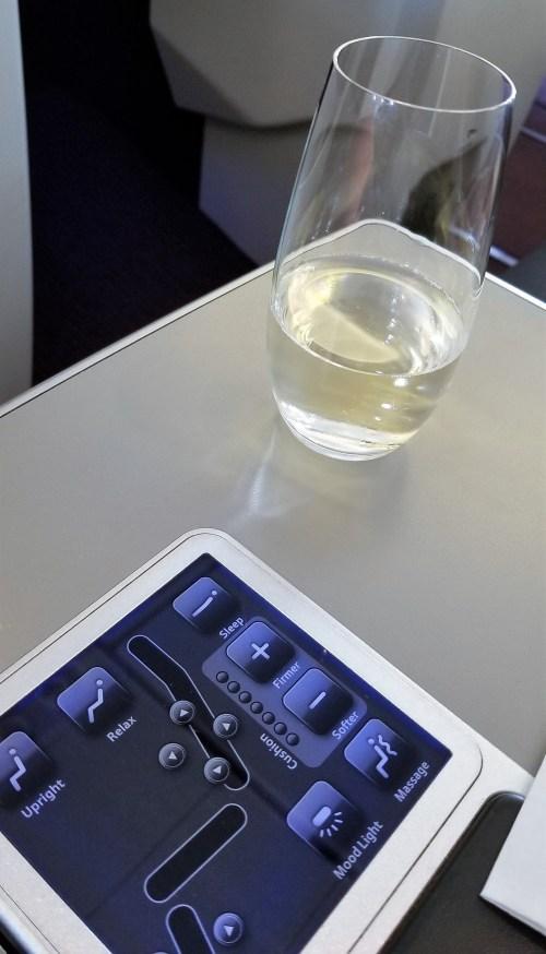 Austrian Airlines Pre Departure Beverage