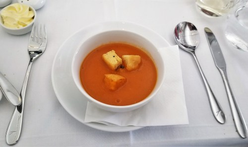Austrian Airlines Red Lentil Soup