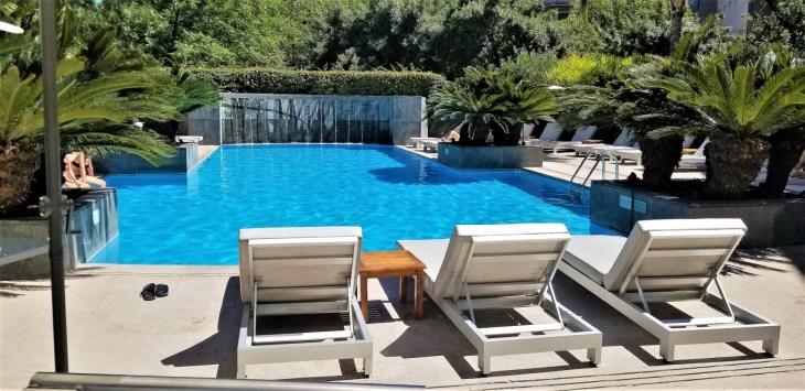 Park Hyatt Mendoza Pool Deck