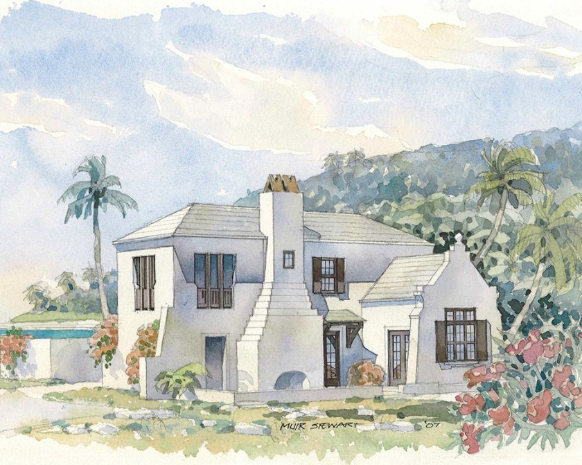 McNamara-Alys Beach House-Somerset Villa-Coastal Living Rendering