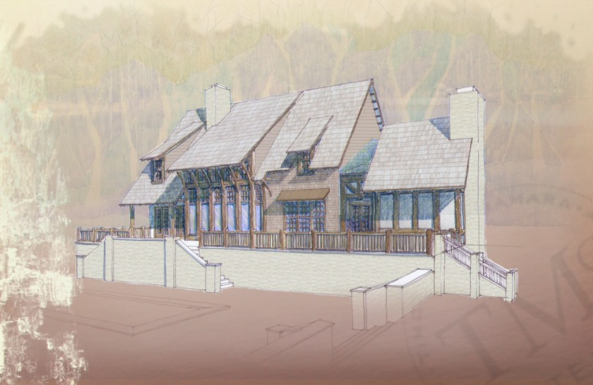 McNamara-Saunders Bridge Planning-Mountainside House