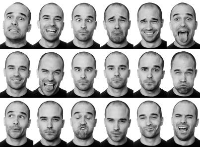 Actor faces