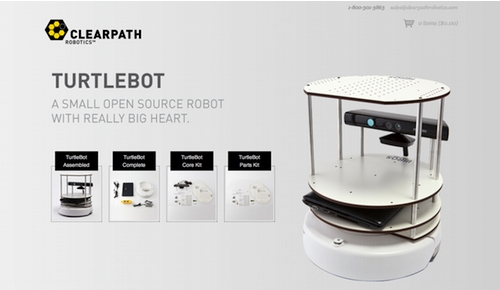 Clearpath Robotics Ecommerce Site, Powered by Shopify