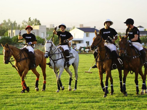 Playing polo in Argentina