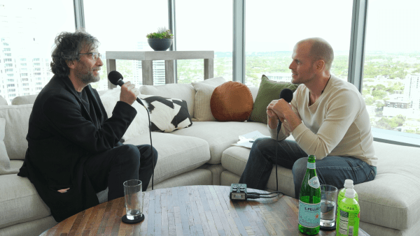 Neil Gaiman speaks with Tim Ferriss