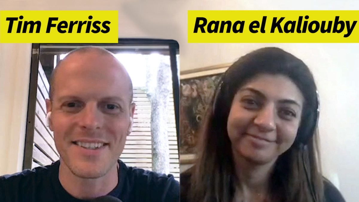 Rana el Kaliouby — AI, Emotional Intelligence, and the Journey of Finding Oneself (#423)