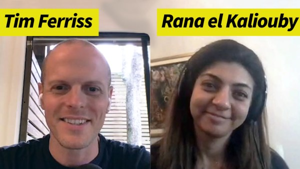 Rana el Kaliouby and Tim Ferriss