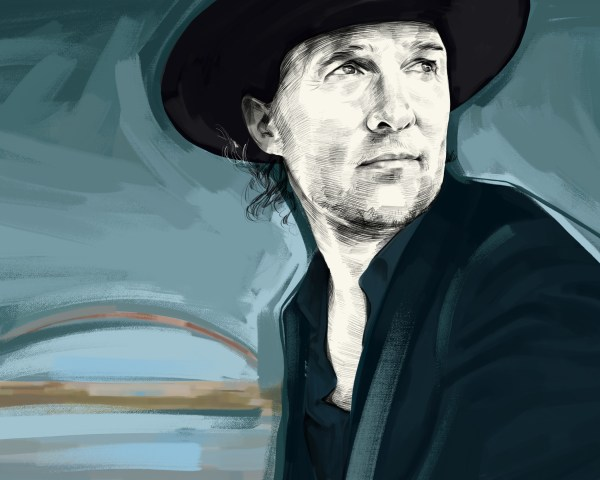 Illustration of Matthew McConaughey