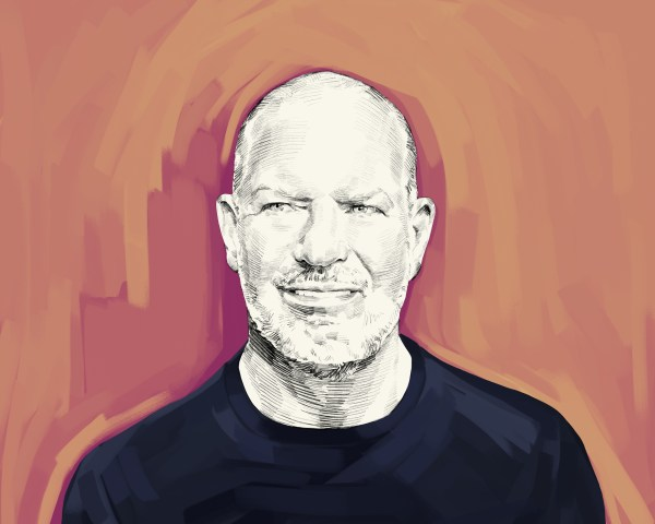Artist's rendering of Chip Wilson