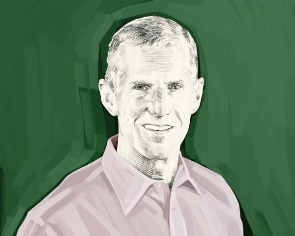 Artist's rendering of General Stanley McChrystal.