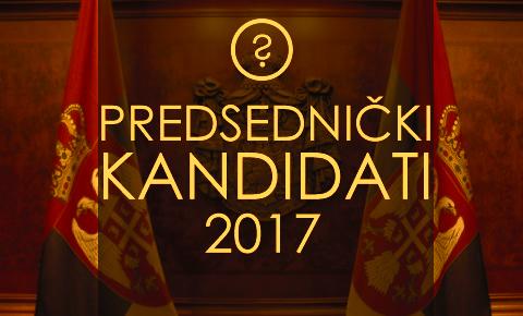 Istraživanje: Predsednički kandidati 2017