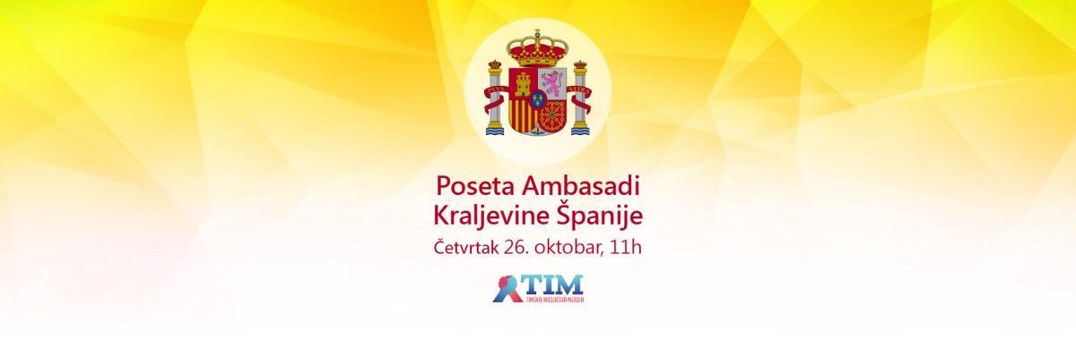 Poseta Ambasadi Kraljevine Španije