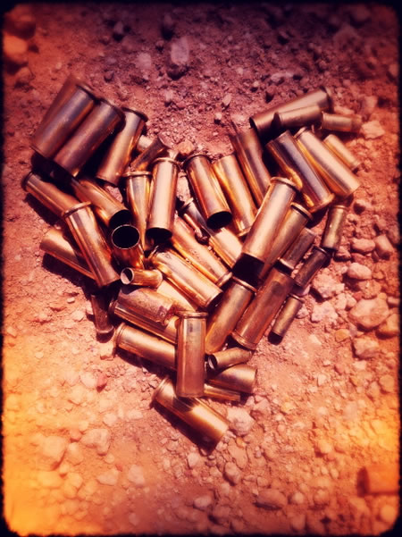 THE HEART OF BULLETS
