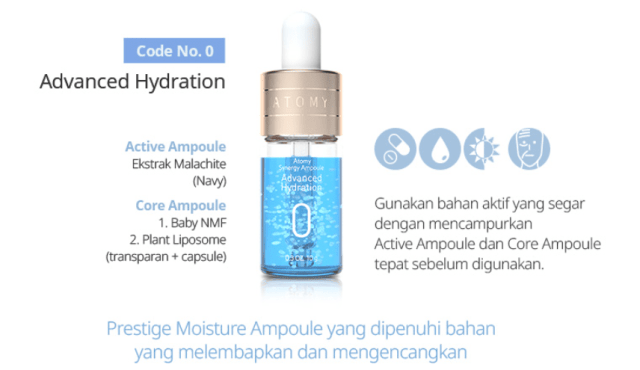 Atomy Synergy Ampoule Advanced Hydration