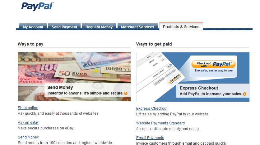 Rekening Online Paypal   Dua Belas Programmer