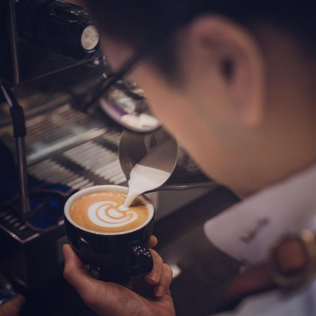 咖啡拉花基礎班 - Timable 香港 事件