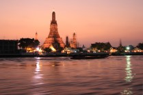 Wat Arun auf der Heimfahrt