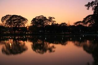Kandawgyi Sunset