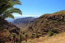 Aussicht kurz vor El Cercado