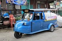 Tuk Tuk Ayutthaya Style
