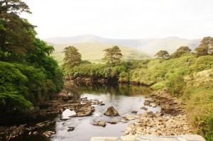 Ireland: Roadside River