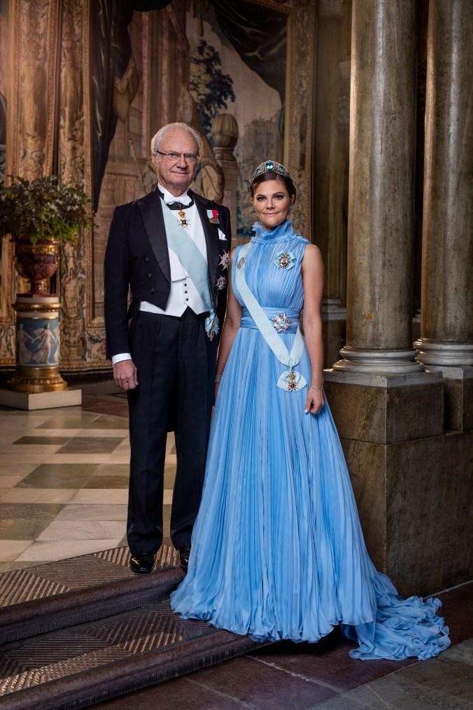 H.M. Konung Carl XVI Gustaf / HM King Carl XVI Gustaf / H.K.H. Kronprinsessan Victoria / HRH Crown Princess Victoria