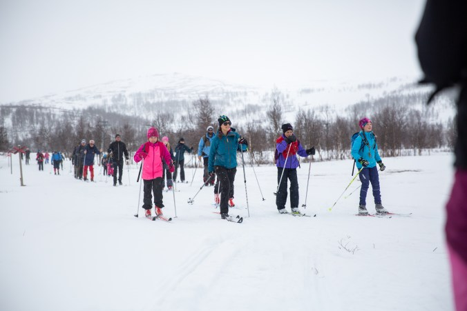 2018-04-20, Landskapsvandringar, Lappland.Onsdagen den 25 april 2018 var Kronprinsessan i Lappland för att genomföra sin sjunde vandring i Sveriges landskap. Vandringen ägde rum i Tärnaby och Hemavan. I september 2017 inledde Kronprinsessan sina vandringa