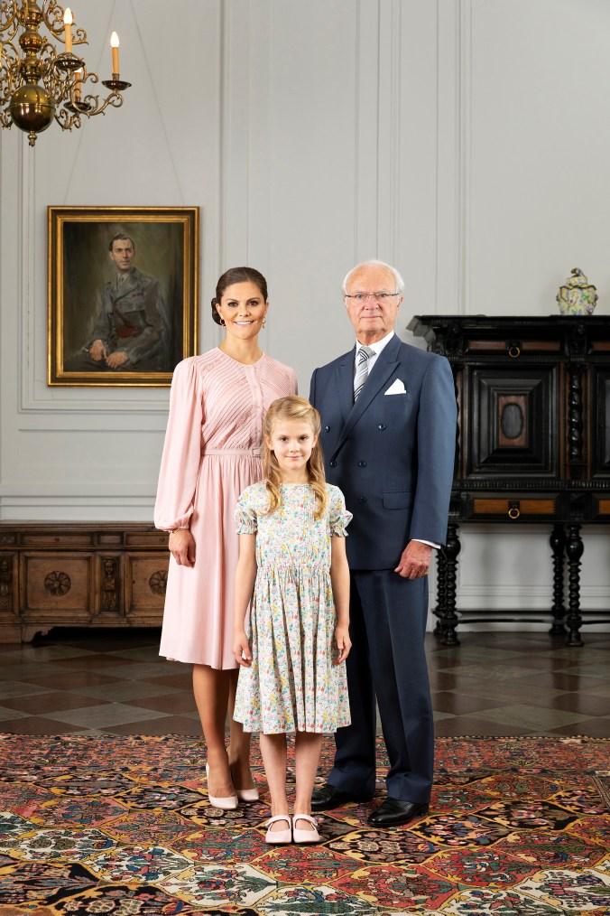 H.M. Konung Carl XVI Gustaf / HM King Carl XVI Gustaf / H.K.H. Kronprinsessan Victoria / HRH Crown Princess Victoria / H.K.H. Prinsessan Estelle / HRH Princess Estelle